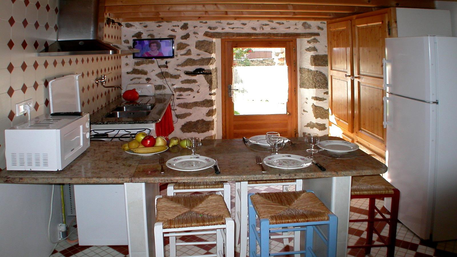 ferienhaus navarre in dorres - küche - Küche Beschreibung